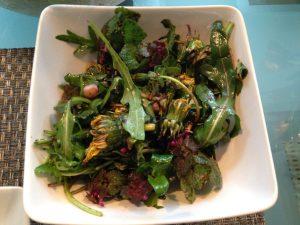 WildkräuterSalat aus dem Garten