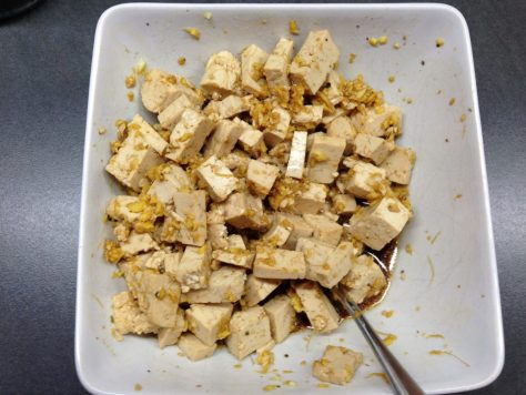 Tofu in Marinade