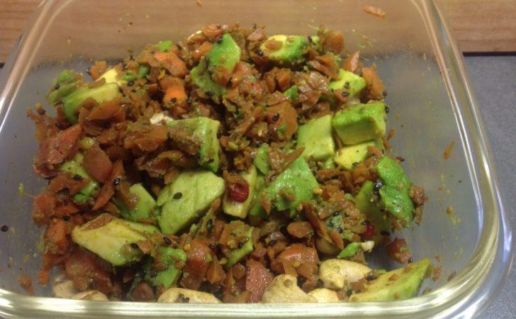 Dukkah Möhren mit Avocado