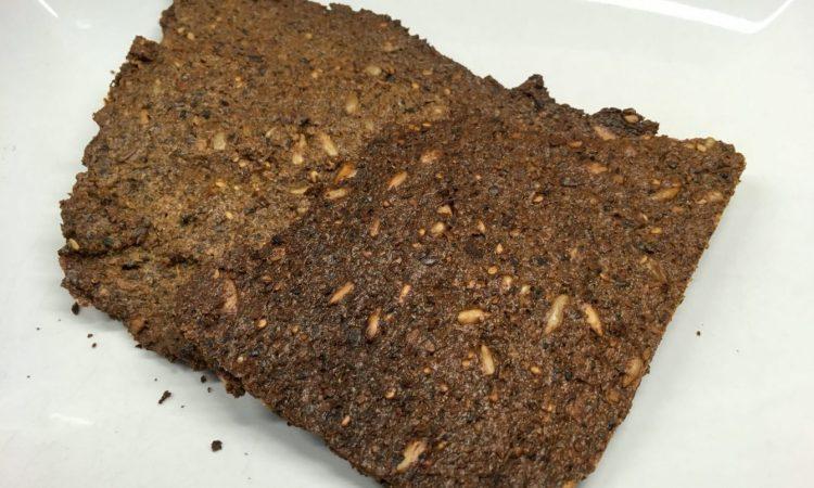 Paleo Zucchini Nuss Rohkost Brot