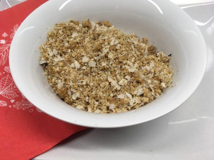 Maulbeer-Kokosnuss-Hanf Basis Müsli