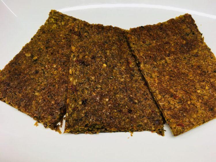 Pastinaken Erdnuss Fladenbrot