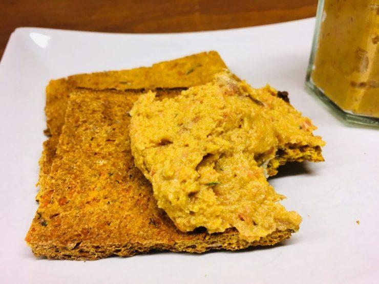 Süßkartoffel Fladenbrot mit Kokos und Rosmarin