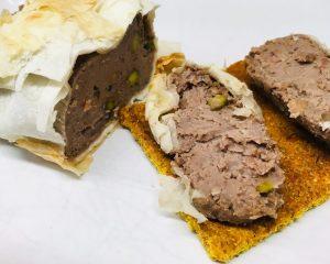 Pastinaken Walnuss Pastete mit Pistazien