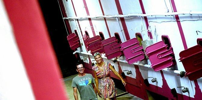 Emmanuelle Delon et Luc Vignal