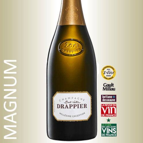 Champagne Drappier Millesime Exception Magnum