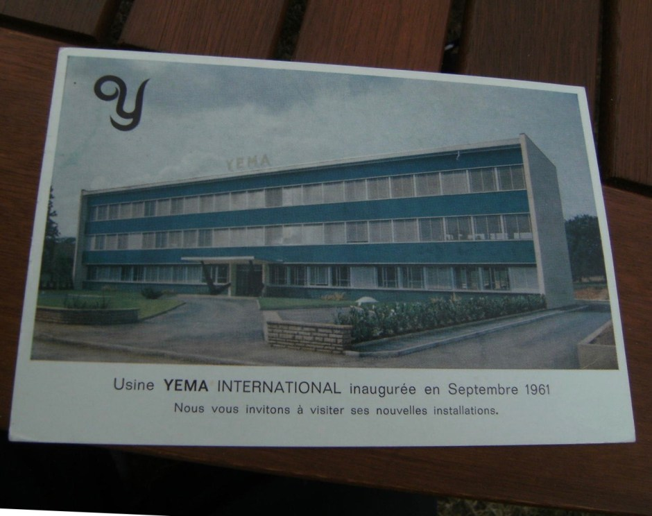 Carte postale Usine Yema International