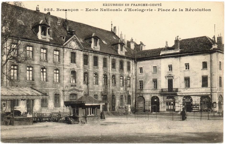 Carte Postale_Ecole nationale d'Horlogerie de Besançon