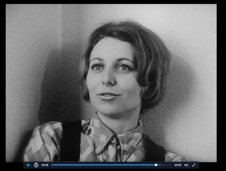 Mai 1968 à l'usine YEMA_Suzanne Zedet. Image extraite du documentaire Classe de Lutte