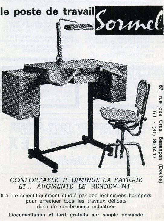 Publicité Poste de travail SORMEL