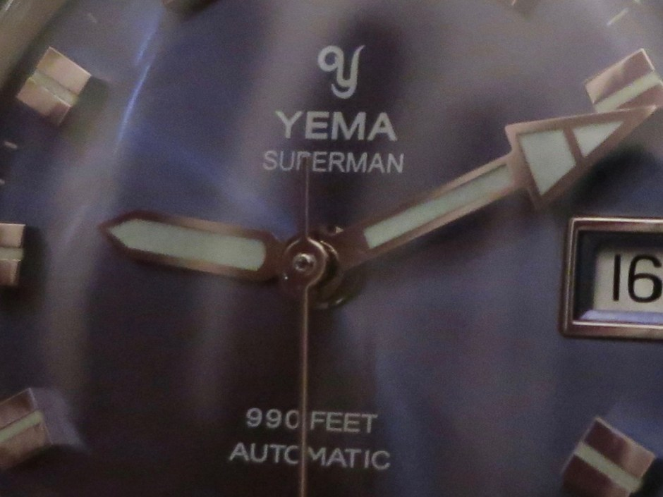 Prototype YEMA Superman Heritage blue. Crédit Jerry 04/12/18
