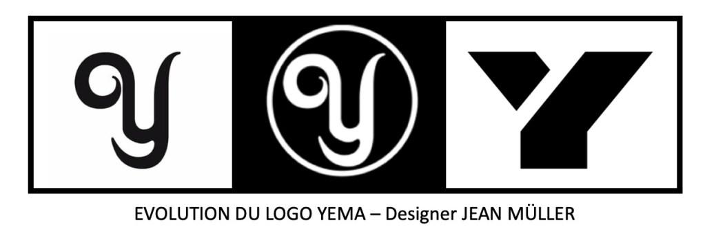 YEMA Evolution du Logo par Jean Muller