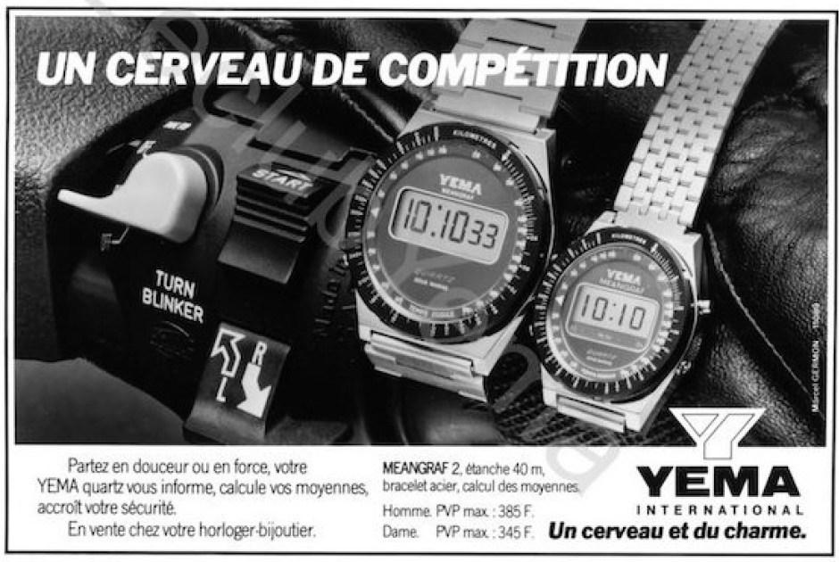 Yema Meangraf 2. Publicité Presse Agence Marcel Germont