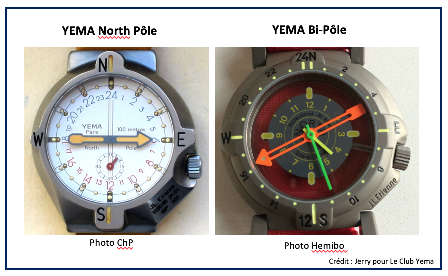 YEMA North Pole et YEMA Bi Pole Richard MILLE Jean-Louis Etienne