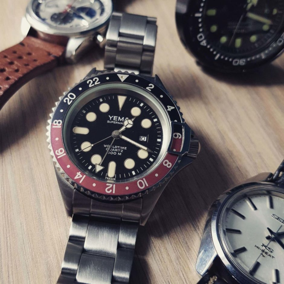 YEMA Superman II Worldtime GMT_LeClubYema