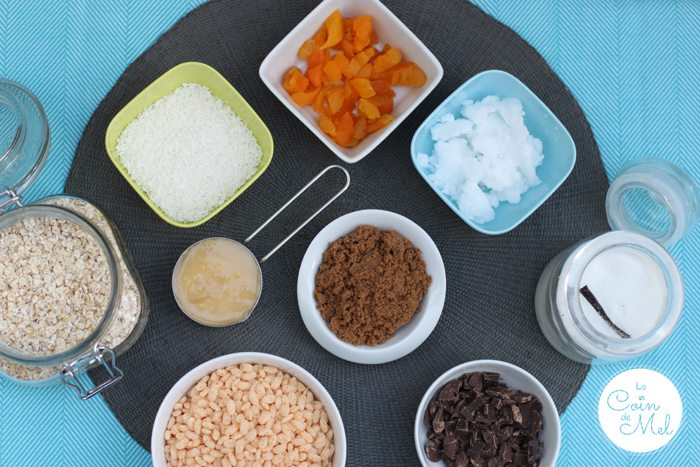 Free From Apricot and Coconut Oat Cubes Ingredients