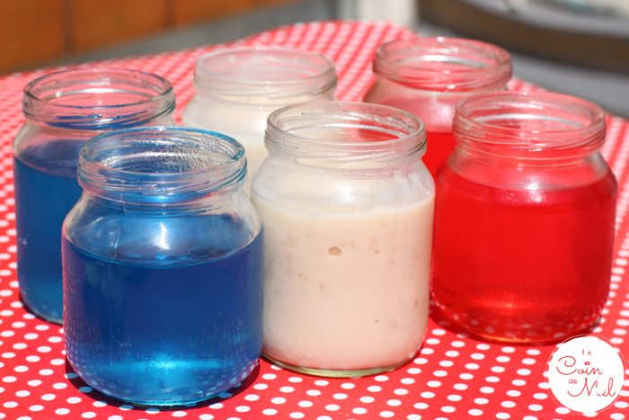 French Party - The Food - Jelly Flag