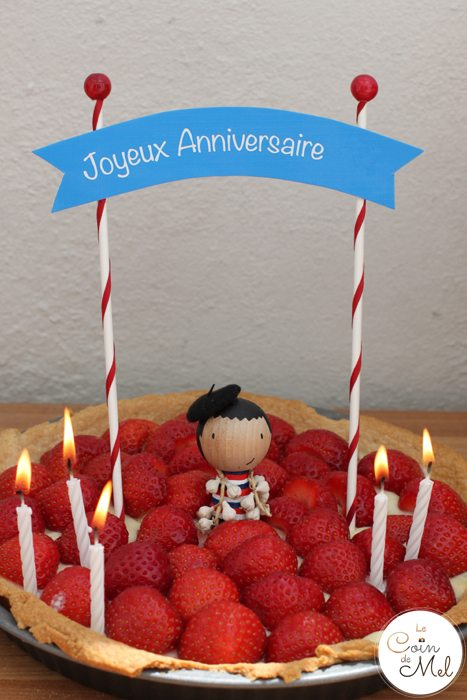 French Party - The Food - the Cake
