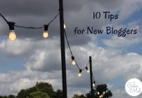 10 Tips When Starting a Blog