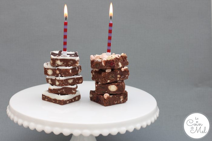 Lazy Day Foods as Birthday Cake