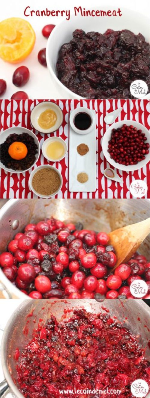 Cranberry Mincemeat - Easy Recipe