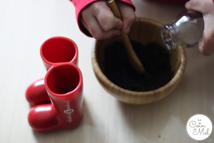 debbie&andrew's Mini Wellies as Herb Pots