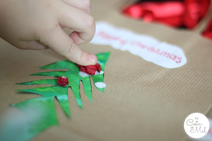 Christmas Tree Bags for Homemade presents - Final Details