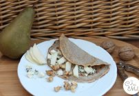 Pear, Roquefort & Walnut Pancakes