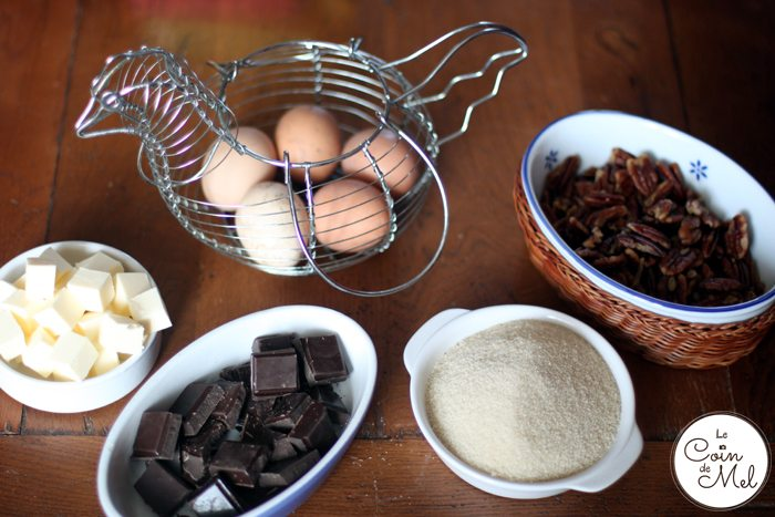 Decadent Flourless Chocolate Cake - Ingredients