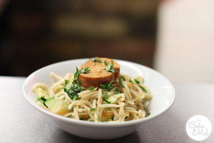 Chicken Noodle Broth