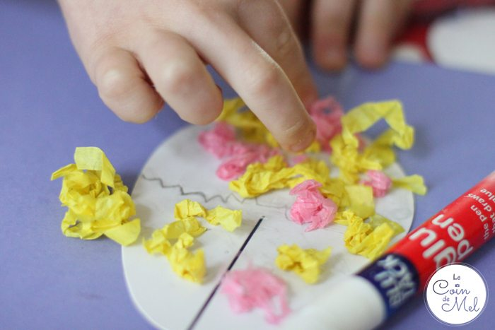 Quick & Easy Spring Crafts - Making Tissue Paper Easter Egg Cards