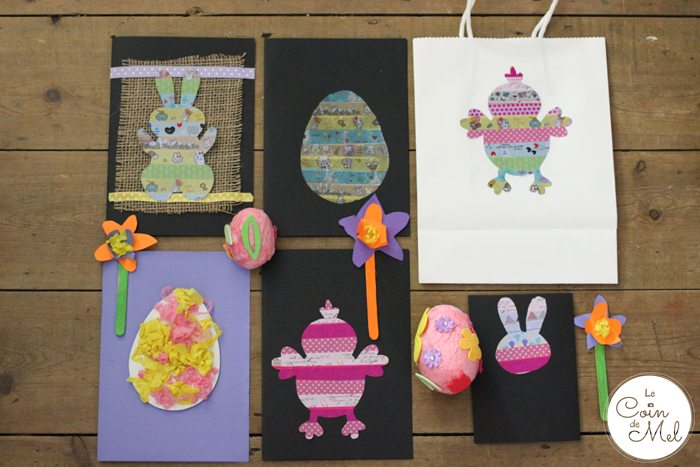 Quick and Easy Crafts for Spring - Easter Crafts in 10 Minutes