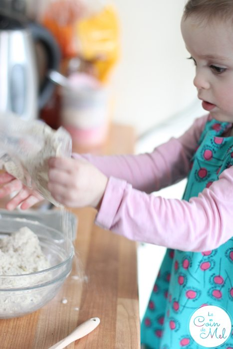 Even allergic toddlers can make bread with Sukrin