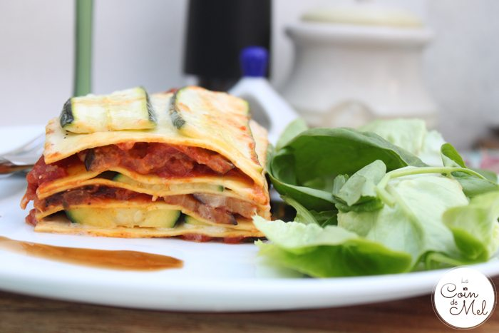 The Best & Simplest Vegetarian Lasagne Recipe Ever on a Plate