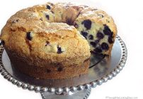 Feature my Food Friday: Introducing Allie & her Blueberry Pound Cake