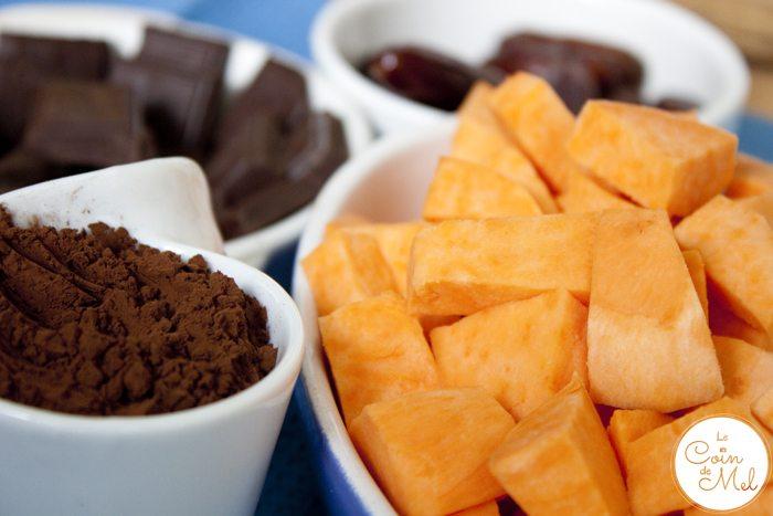 4-Ingredient Chocolate Fudge Brownie Ice Cream – Ingredients