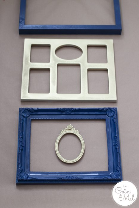 The Perfect DIY Present for a Star Wars Fan - Spray Painted Frames