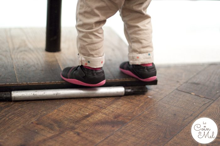 When Should My Baby Start Walking - My little climer and her Bobux shoes