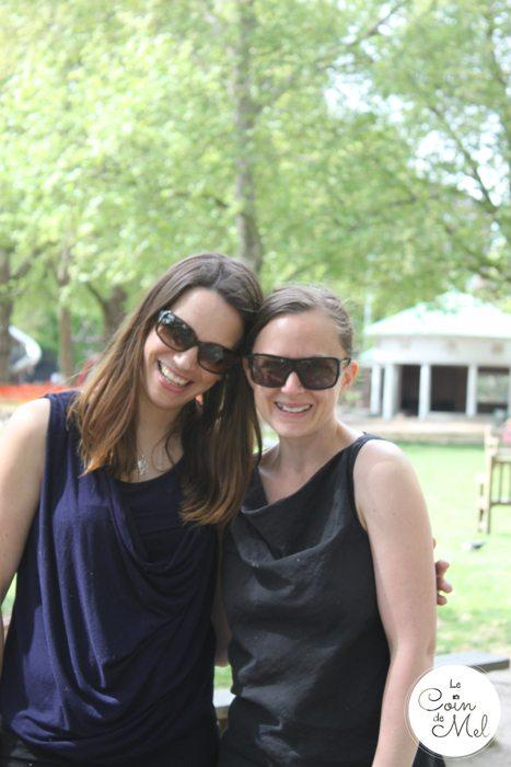 Reneé and I