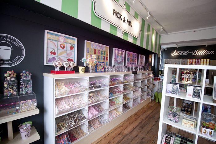 Sweet as a Button - a Sweet Shop Not Like Any Other - wow
