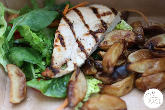 A Family Feast at Home with Deliveroo - chicken & chips