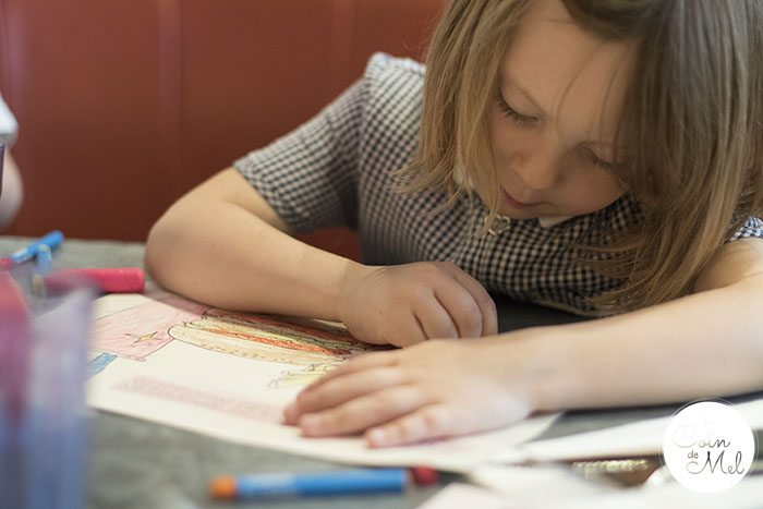 Finding the Perfect Father's Day Present & a Yummy Dinner at GBK - Colouring