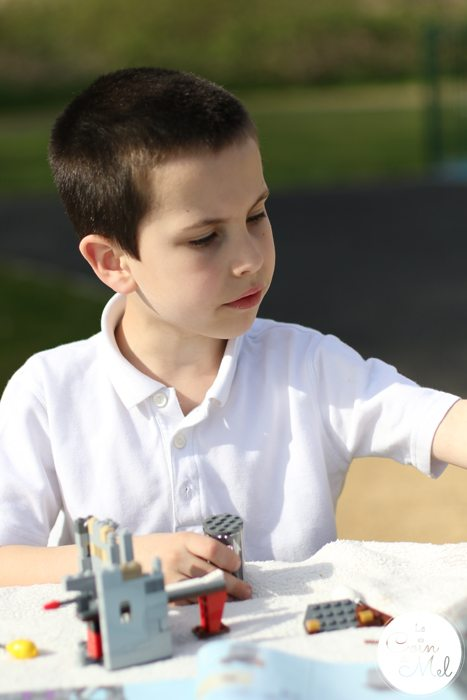 Sunshine, Kinder Bueno Milkshakes, Play Dates & LEGO® - In the Park