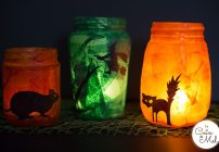 Upcycled Halloween Lanterns – 10 Minute Crafts
