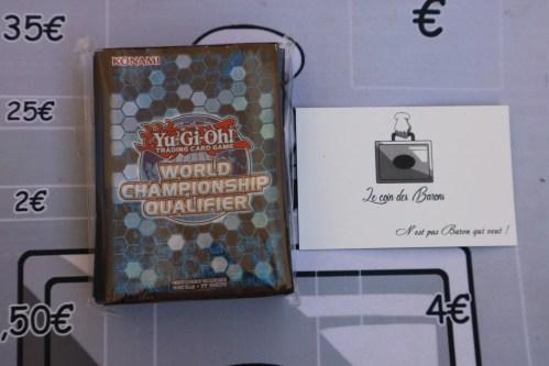 Paquet de 60 pochettes WCQ 2019 – Championnat de France / Championnat d'Europe