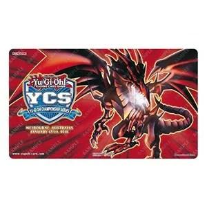 Tapis de jeu YCS Melbourne 2018 Dragon Noir aux Yeux Rouges