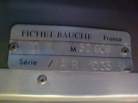 ARMOIRE FORTE ANTI FEU FICHET BAUCHE 200 38000