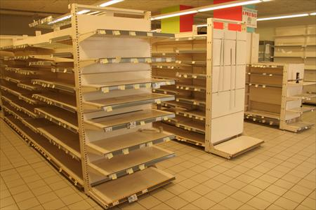 rayonnages magasin occasions et