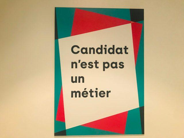candidat n'est pas un metier