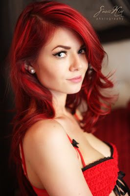 comment se colorer les cheveux en rouge russir votre coloration rouge - Coloration Auburn